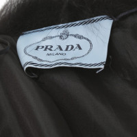 Prada Dress with fur trim