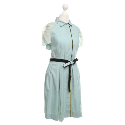 Philosophy di Alberta Ferretti Cotton dress in mint