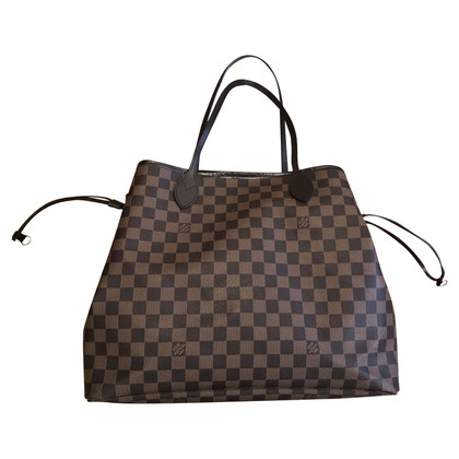 "Louis Vuitton ""Neverfull Damier Ebene Canvas"""