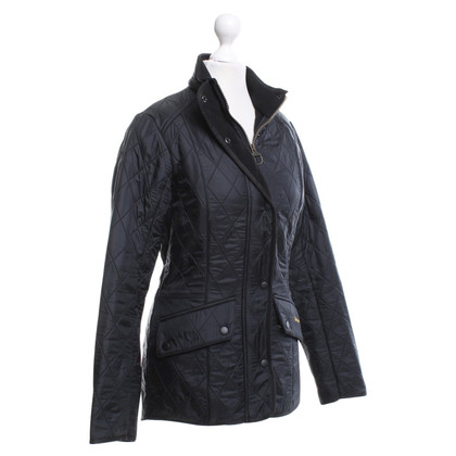 Barbour Giacca trapuntata in Black