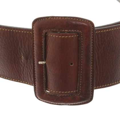Mulberry Belt in brown