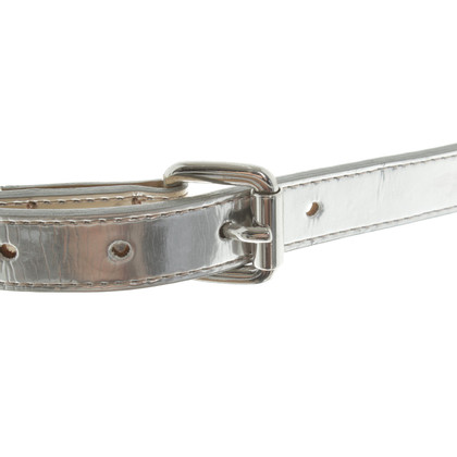 Pierre Balmain Belt made of lacquered leather