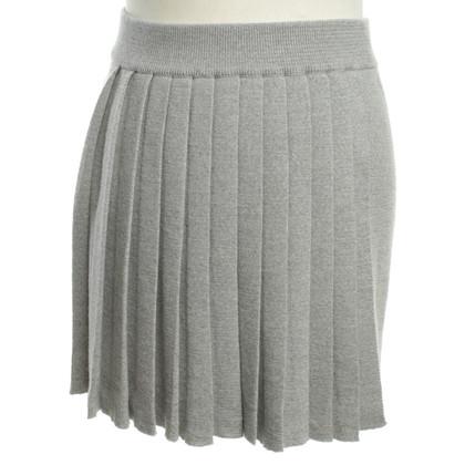 Stefanel gonna di lana in grigio