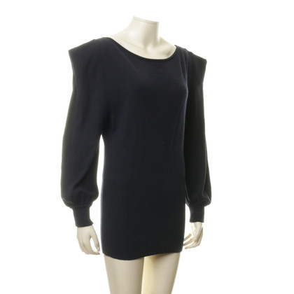 Antonia Zander Pullover with shoulder Drapé