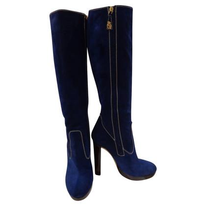 Dsquared2 velvet boots