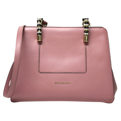 Bulgari Handtas in roze