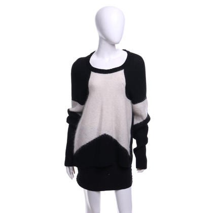 Lala Berlin Sweater in black and white