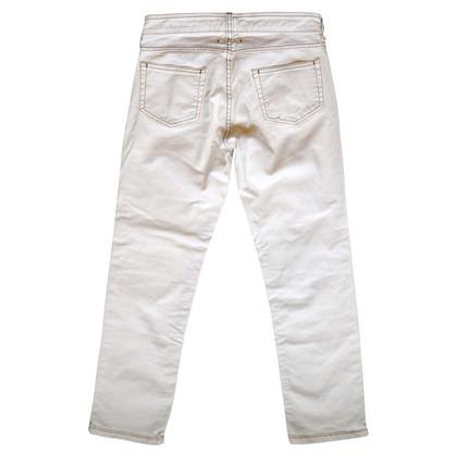 Isabel Marant Etoile Bianchi 7/8 Jeans Lunghezza Capri