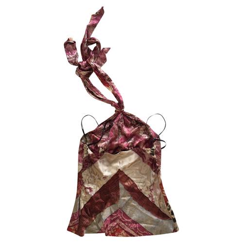 8f3e6c82ad151 Roberto Cavalli Top Silk - Second Hand Roberto Cavalli Top Silk buy ...