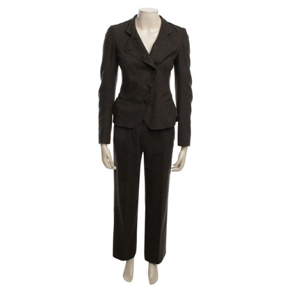 René Lezard Pantsuit in brown