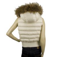 Moncler KAILA White Down Feather Gillet