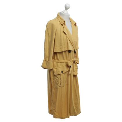 American Vintage Trench coat in yellow