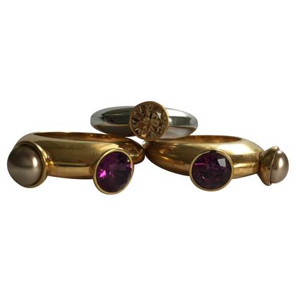 Swarovski Ring 3-piece set