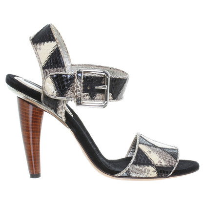 Dolce & Gabbana Sandals made of Python leather
