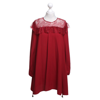 Philosophy di Alberta Ferretti Dress in Bordeaux