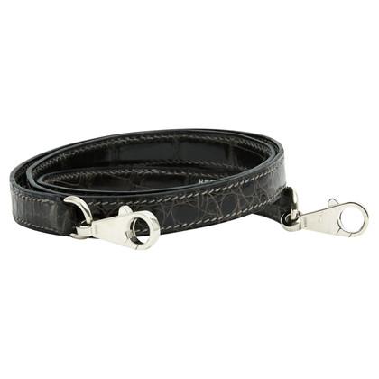 Hermès Shoulder strap made of crocodile leather
