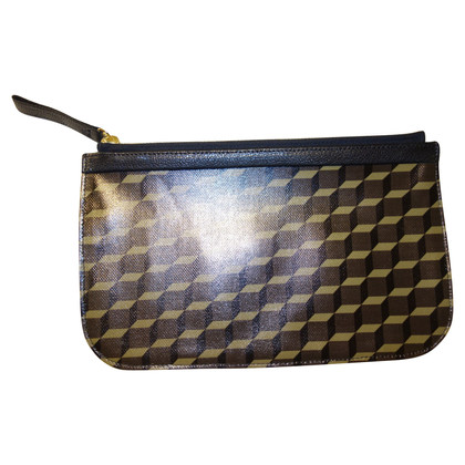 Pierre Hardy Pochette of leather with pattern