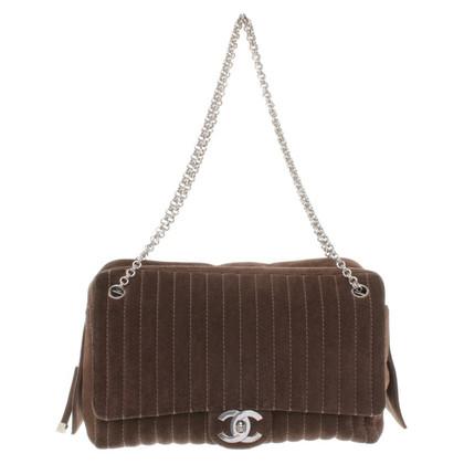 Chanel Suede Flap Bag