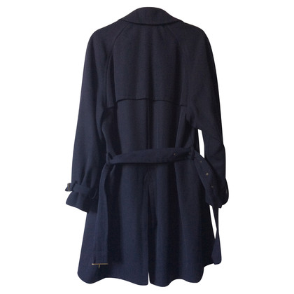 Armani Winter-Trenchcoat in Blau