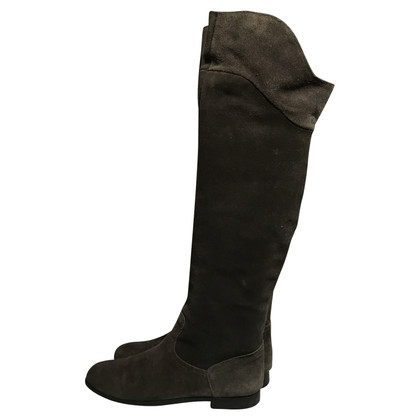 Navyboot Thigh high boots suede
