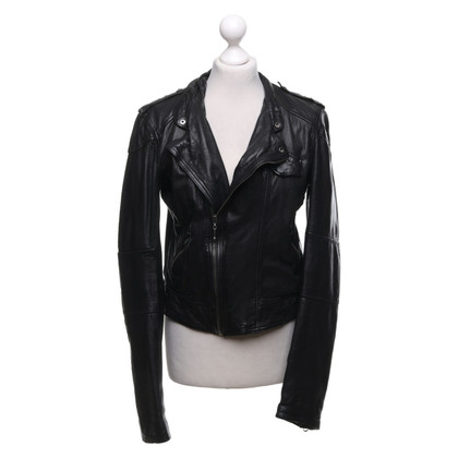 Levi's Leather jacket in biker style