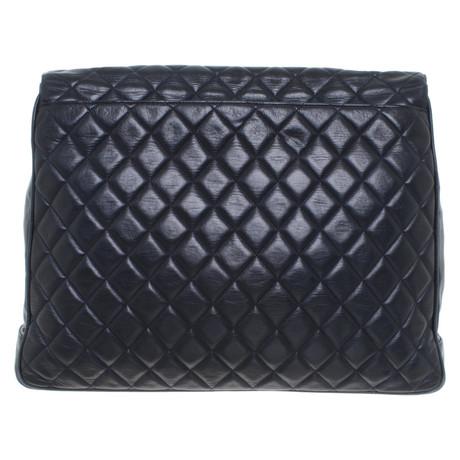 Chanel Flap Bag in Dunkelblau Blau Neue 2L88Zj