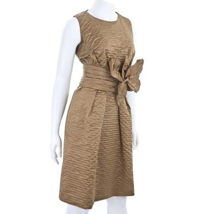 Marc Jacobs Taffeta jurk met riem