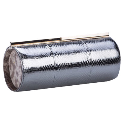 Jimmy Choo Glitter Tube Clutch