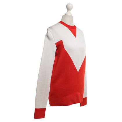 Céline Maglione in rosso / bianco