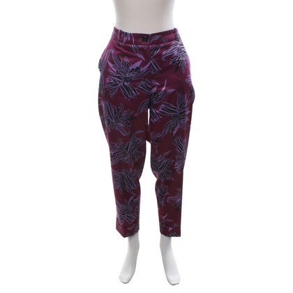 Hugo Boss trousers in purple tones