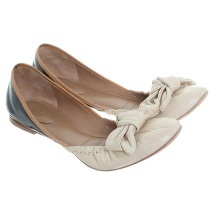 Chloé Ballerinas with grinding detail