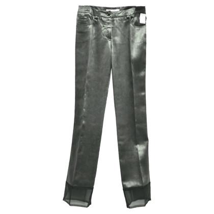 Christian Dior Jeans mit Tüllsaum