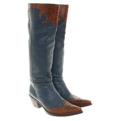 Vic Matie Boots in blue