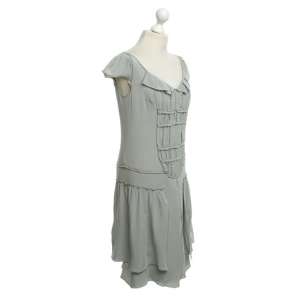 Miu Miu Silk dress in gray