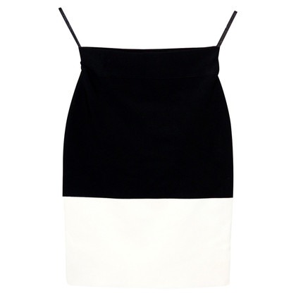 BCBG Max Azria skirt in black and white