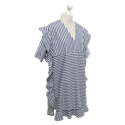 MSGM Dress with stripe pattern