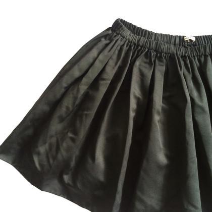 Miu Miu Miu Miu Black silk skirt