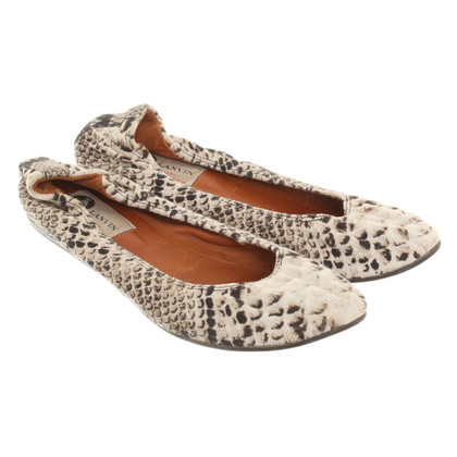 Lanvin Ballerinas with print motif