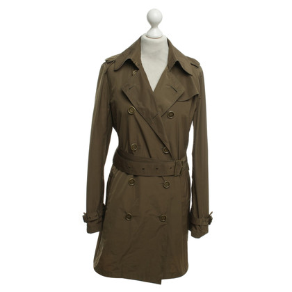 Burberry Trenchcoat in Olivgrün