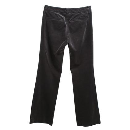 Gucci pantaloni di velluto in grigio