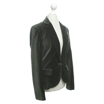 Zadig & Voltaire Velvet blazer in dark green
