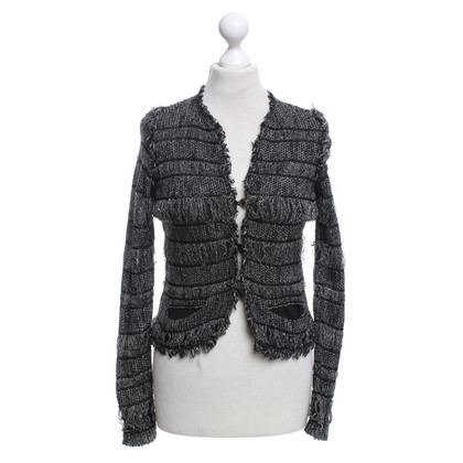 Isabel Marant Cardigan in black / white
