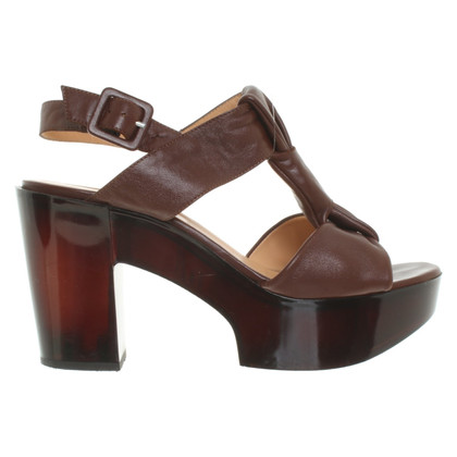 Robert Clergerie Sandals in brown