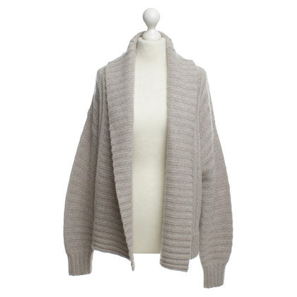360 Sweater Kaschmirjacke in Beige
