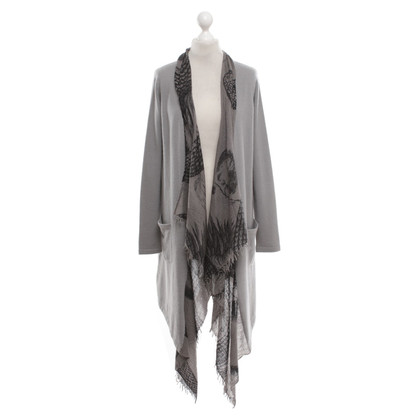 Friendly Hunting Cashmere cardigan in grigio