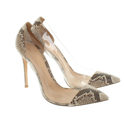 Gianvito Rossi pumps from Reptilleder