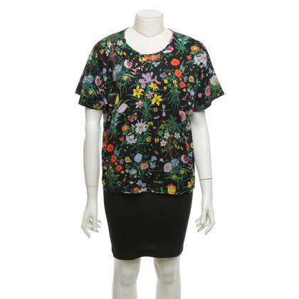 Gucci T-Shirt mit floralem Muster