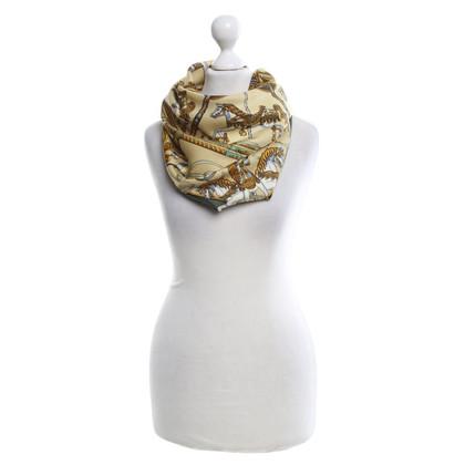 Hermès Foulard en soie avec Carousel Imprimer