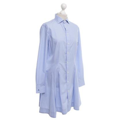 Polo Ralph Lauren abito camicia sportiva in azzurro