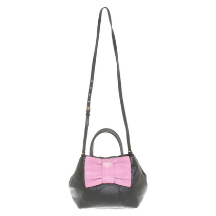 Prada Handbag in black / pink